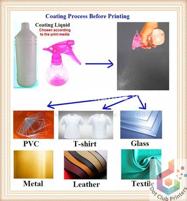 Sublimation Spray Coating ⋆ Dot Club Digital Printers