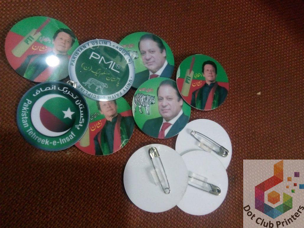 Election Badge ⋆ Dot Club Digital Printers Faisalabad