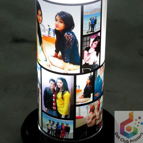 Photo Lamp Custom Printing ⋆ Dot Club Digital Printers